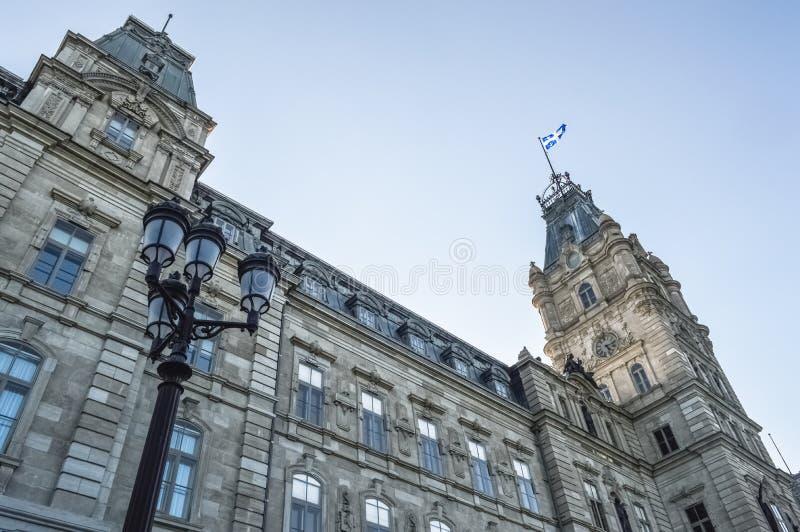 Le parlement du Québec à Québec photo stock