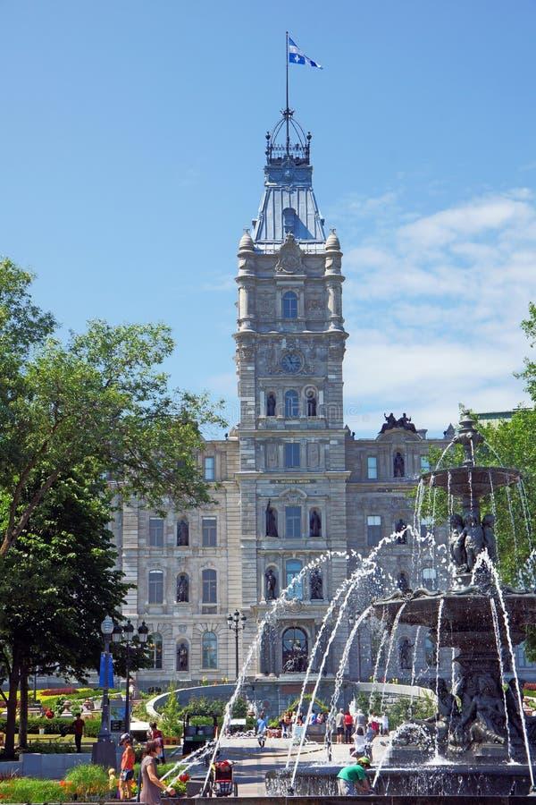 Le parlement du Québec images stock