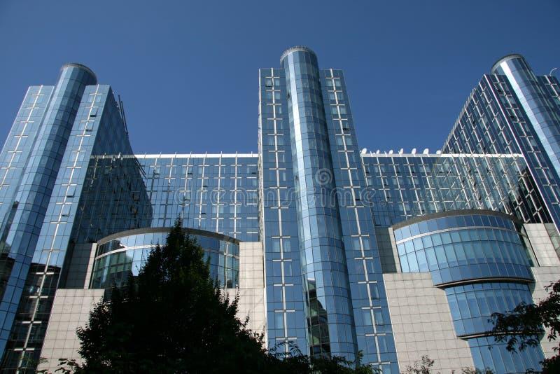 Le Parlement européen - Bruxelles image libre de droits