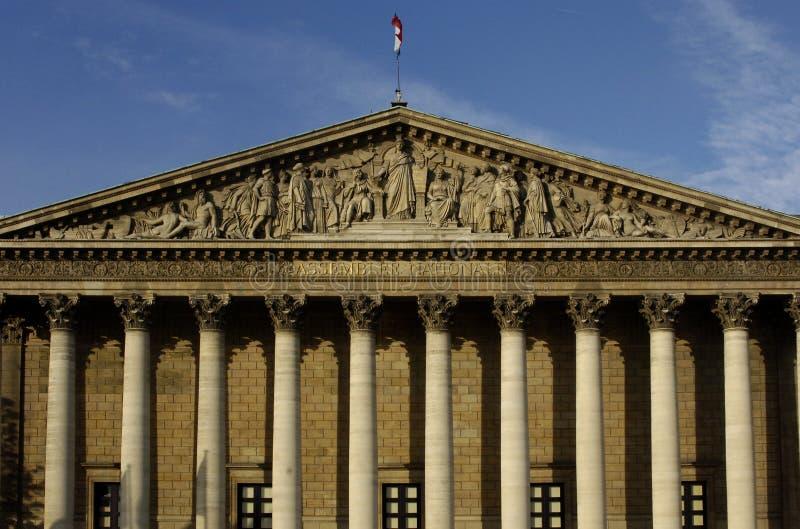 Le parlement français images stock