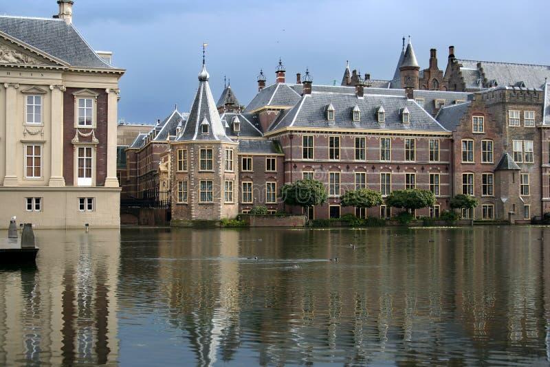 Le Parlement hollandais image stock