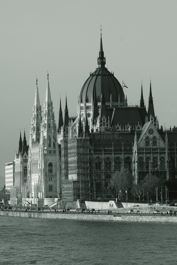 Le Parlement hongrois photographie stock