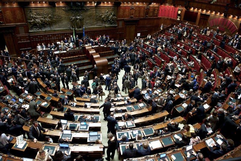 Le Parlement italien photos stock