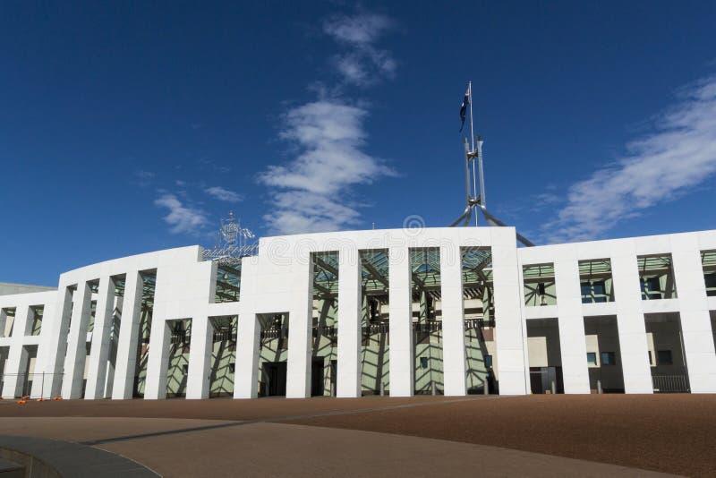 Le Parlement logent, Canberra, Australie photographie stock libre de droits