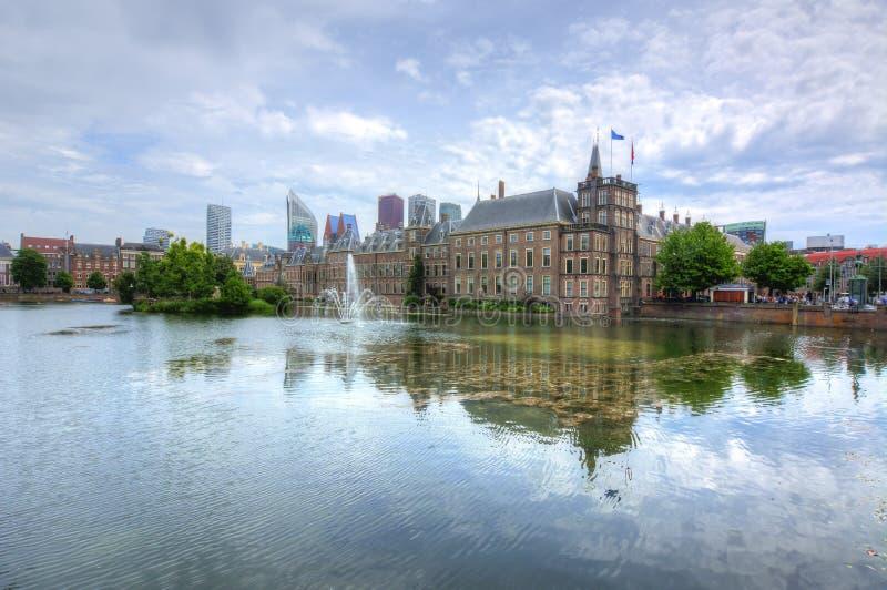 Le Parlement néerlandais de Binnenhof, la Haye, Pays-Bas photo stock