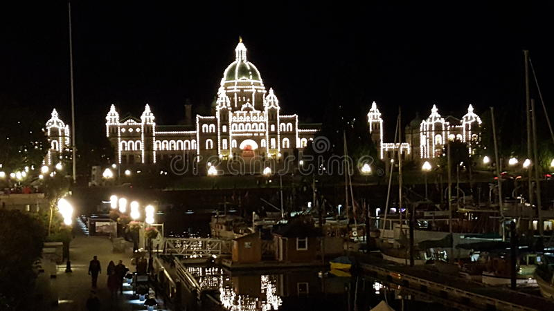 Le Parlement Victoria images stock