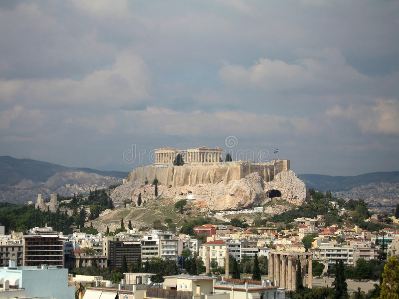 Le parthenon photo libre de droits