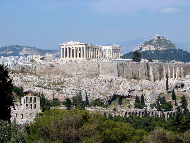Le parthenon, Athènes photo stock