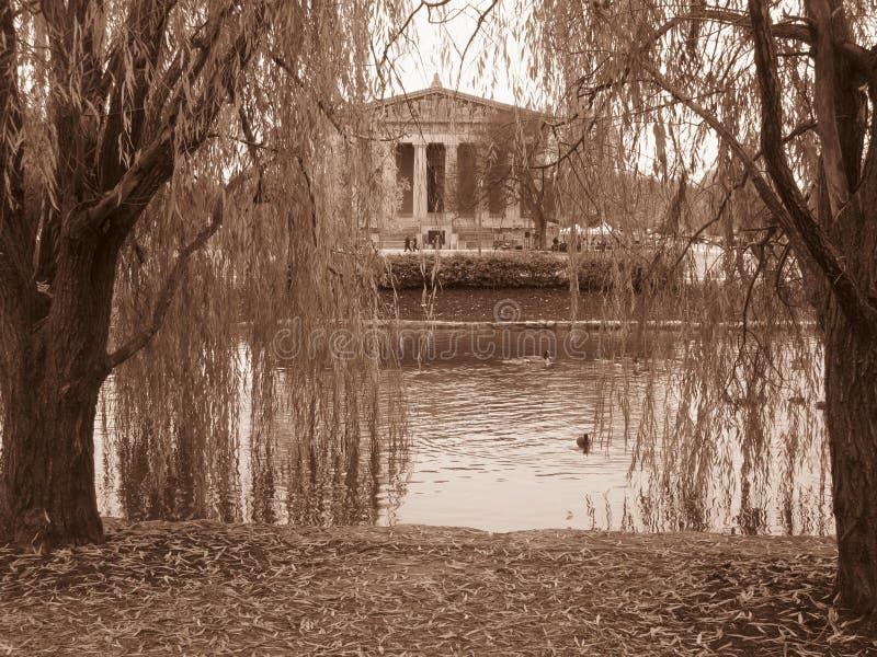 Le parthenon de Nashville images libres de droits