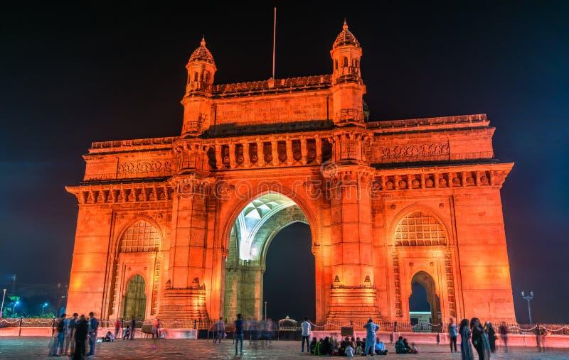 Le passage de l'Inde dans Mumbai images libres de droits