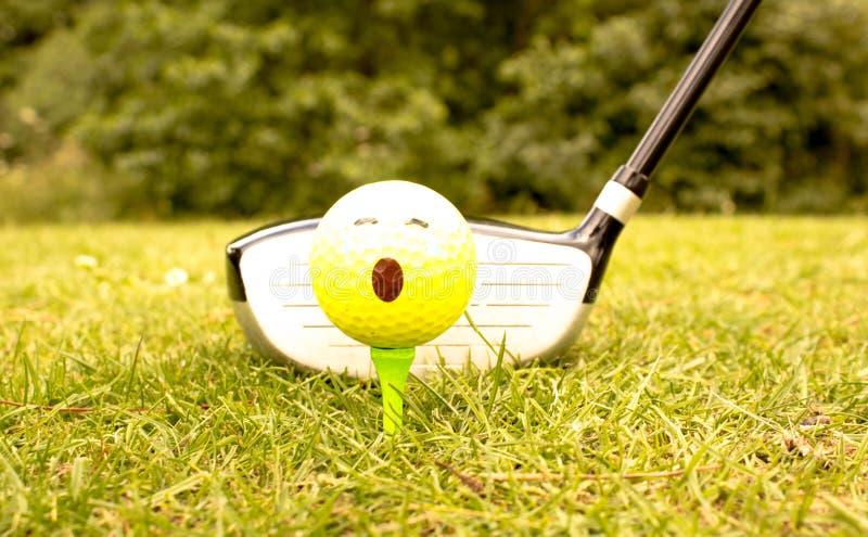 Le passe-temps du golf photo libre de droits