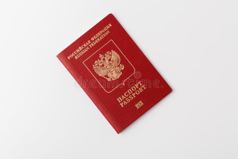 Le passeport du citoyen de la Russie image stock