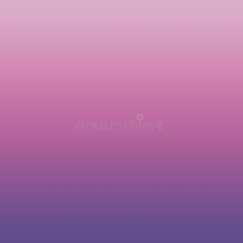 Le pastel d'Ombre ultra Violet Spring Crocus Pink Lavender de gradient a brouillé le fond minimal pourpre illustration libre de droits