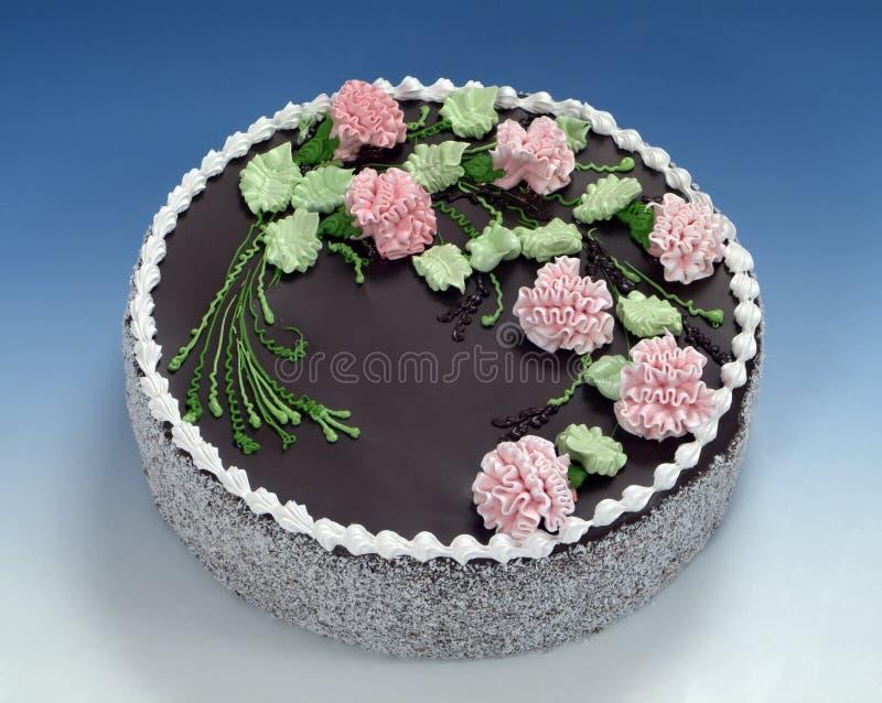 Le pasticcerie, torta di cioccolato fotografia stock libera da diritti