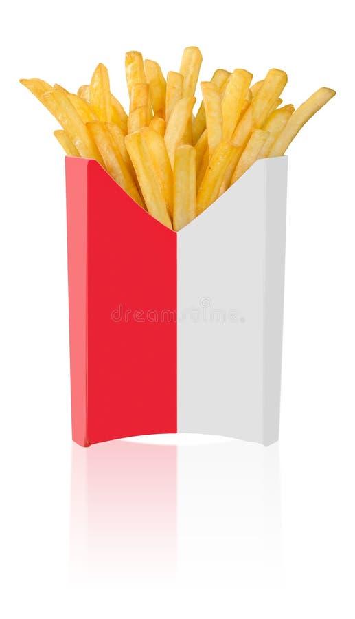 Download Le Patate Fritte Si Chiudono In Su Fotografia Stock - Immagine di francese, alimento: 117980250