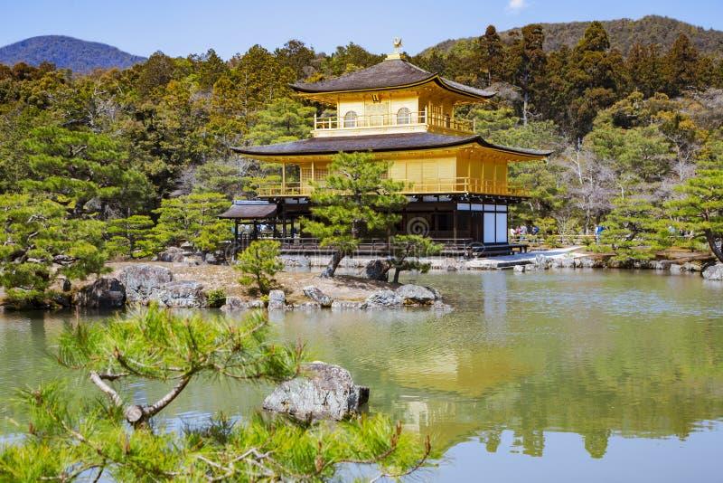 Le pavillon d'or - Kinkaku-JI photos libres de droits