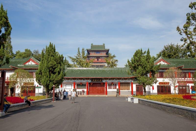 Le pavillon de Tengwang à Nan-Tchang images libres de droits