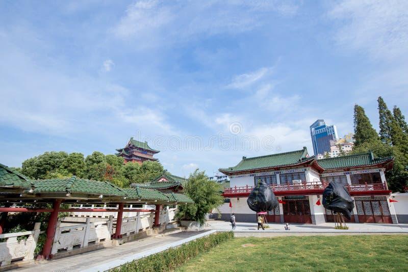 Le pavillon de Tengwang à Nan-Tchang image stock