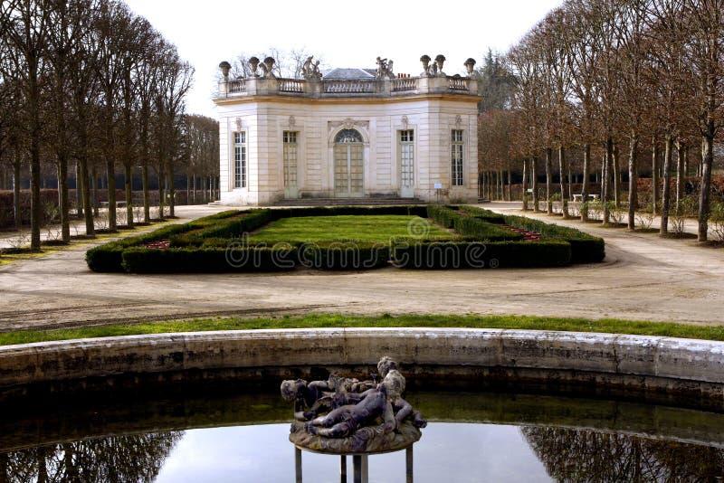 Le Pavillon Francais - Versailles image stock