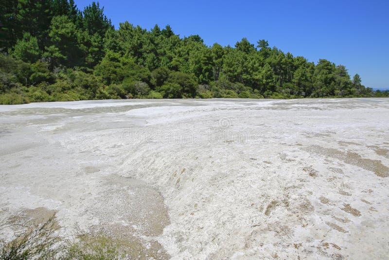 Le pays des merveilles thermique de Wai-O-Tapu, Rotorua, NZ photos stock