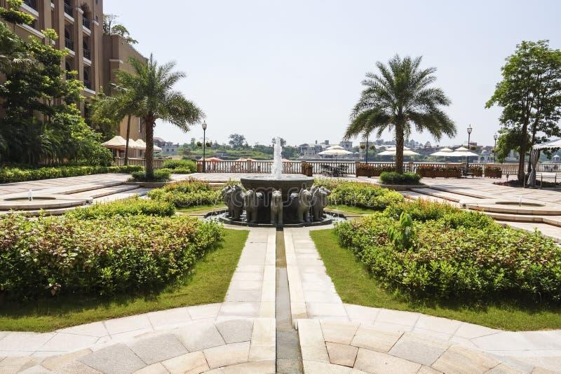 Le paysage d'hôtel images libres de droits