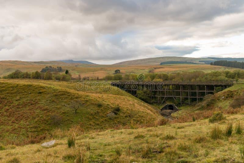 Le paysage dans le Brecon balise le parc national, Pays de Galles, R-U photographie stock libre de droits