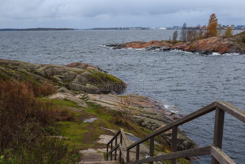 Le paysage de Helsinki photo stock