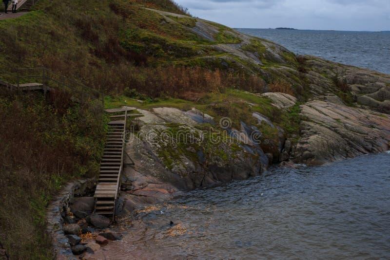 Le paysage de Helsinki photographie stock libre de droits