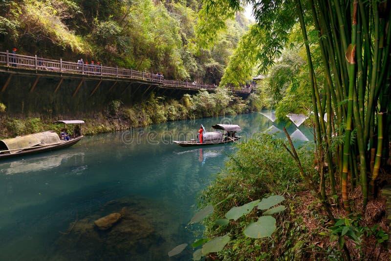 Le paysage de Three Gorges photographie stock