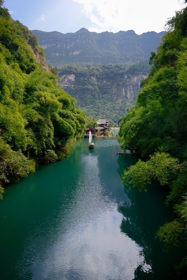Le paysage de Three Gorges photo stock