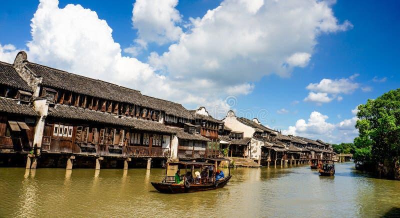 Le paysage de Wuzhen photo libre de droits
