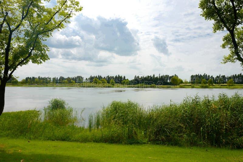 Le paysage du lac Taihu photo stock