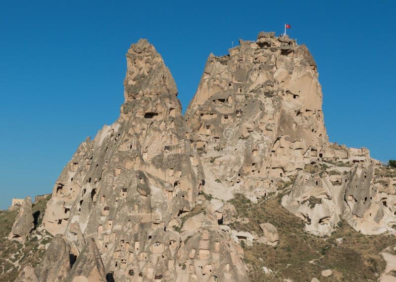 Le paysage merveilleux de Cappadocia image libre de droits