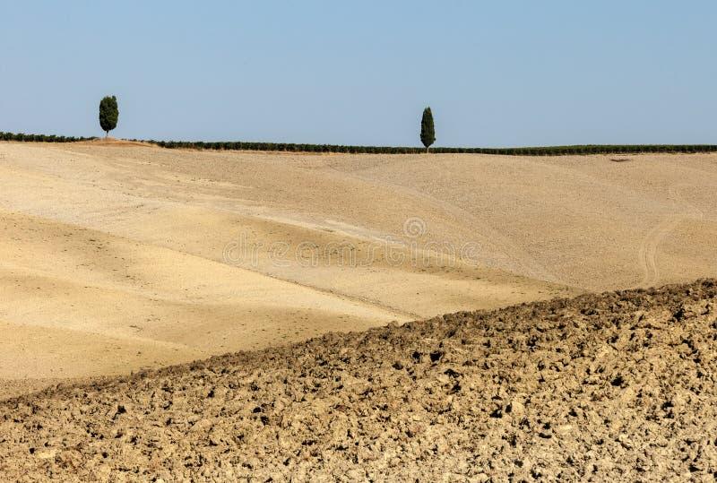 Le paysage rural de la Toscane photos stock
