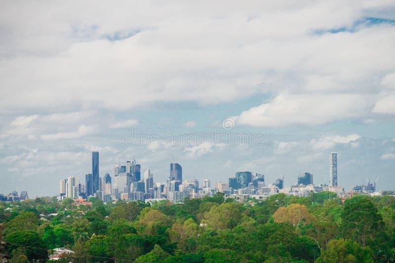 Le paysage urbain de la ville de Brisbane au Queensland, Australie L'Australie est un continent situé dans la partie du sud de la photos libres de droits
