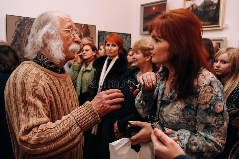 Le peintre ukrainien Ivan Martchouk images libres de droits