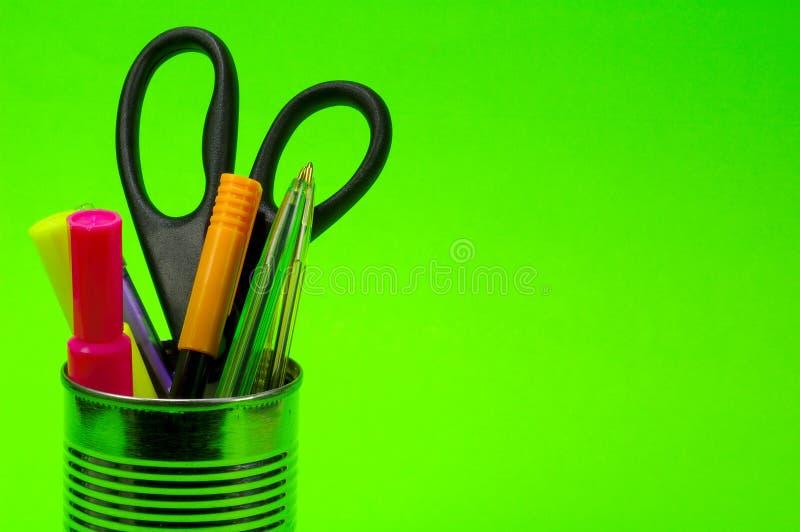 Le Penne Dentro Possono Fotografie Stock