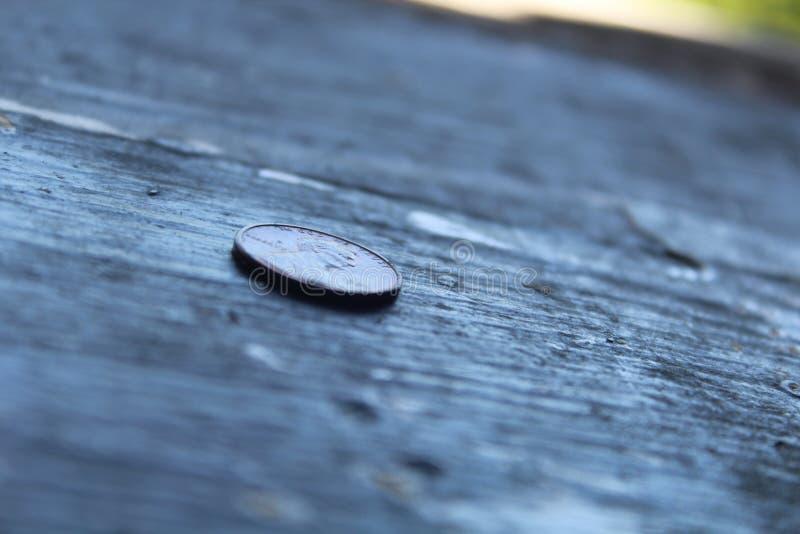 Le penny est une telle femelle photographie stock