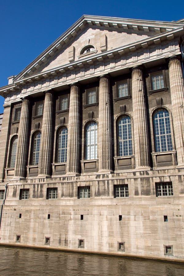 Le Pergamonmuseum à Berlin image libre de droits