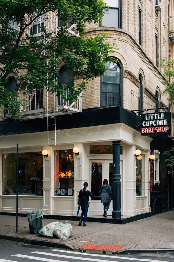 Le petit petit gâteau Bakeshop, dans Nolita, Manhattan, New York City photo stock