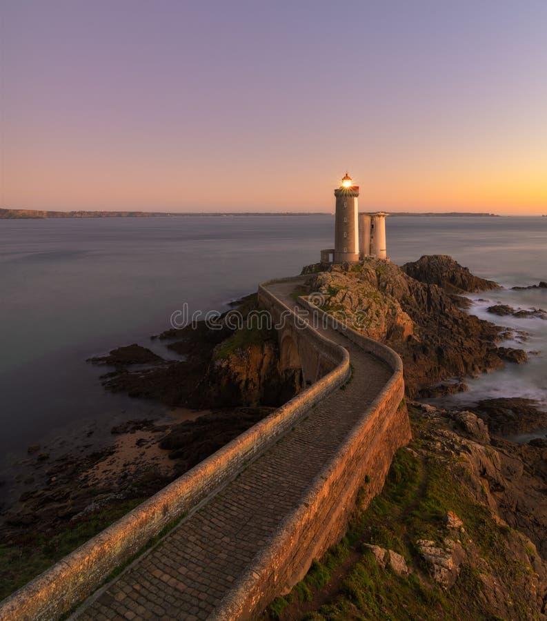 Le Petit Minou, Bretagne stockfoto