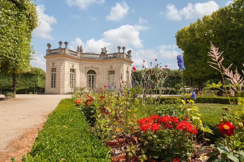 Le Petit Trianon in Versailles. France royalty free stock images