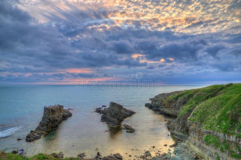 Le phénomène de roche a appelé les bateaux, Bulgarie, la Mer Noire images libres de droits