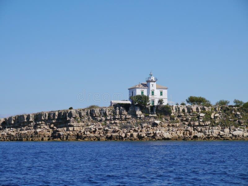 Le phare croate de Plocica photos stock