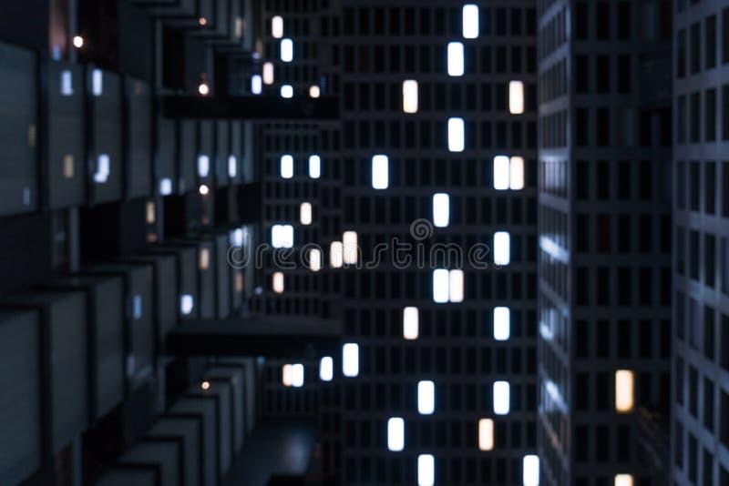 Le phare dans la d?cellulation Sens de film de science-fiction photographie stock