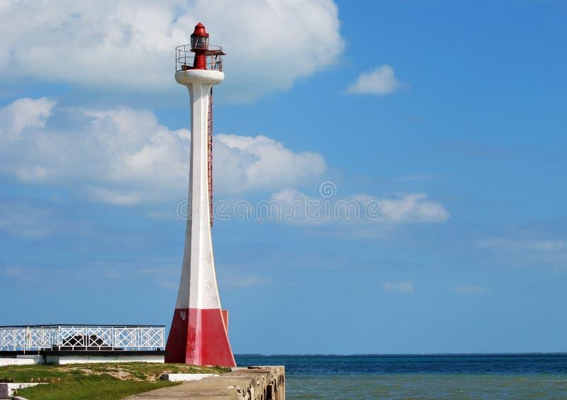 Le phare de Belize images stock