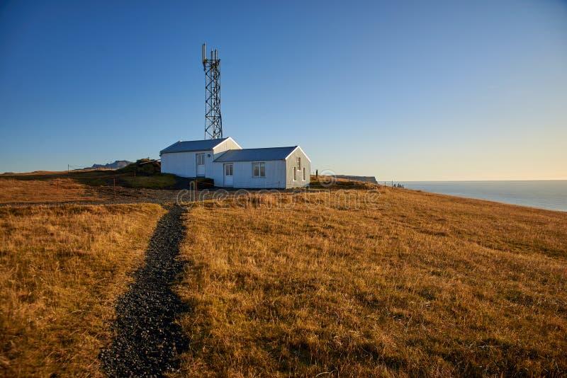 Le phare de Dyrholaey photos libres de droits