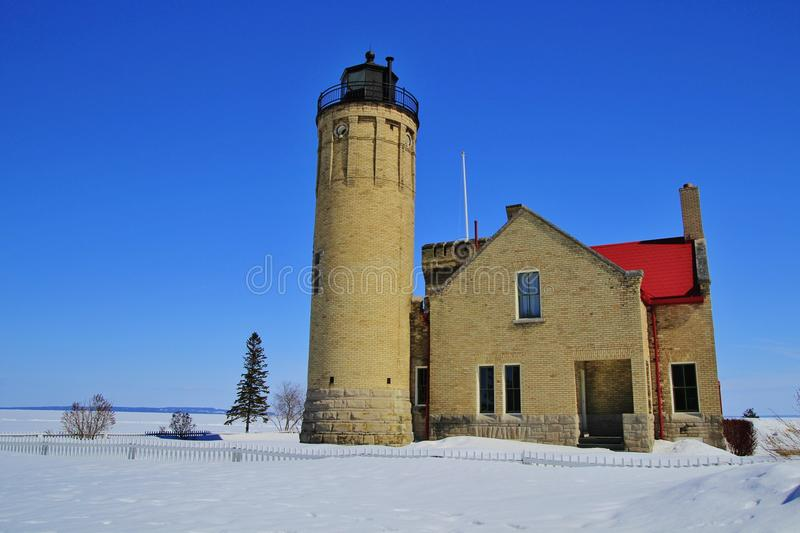 Le phare de Mackinac photos libres de droits
