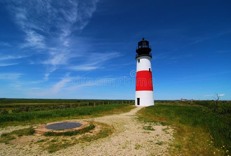 Le phare de Sankaty photographie stock