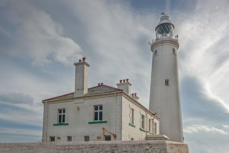 Le phare de St Mary photos stock